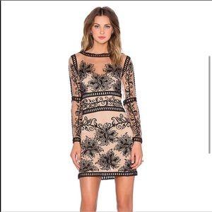For Love and Lemons Desert Nights Mini Dress S EUC